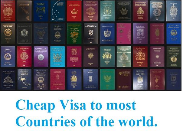 Cheap visas