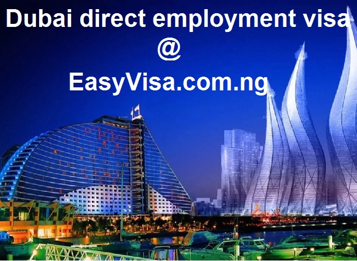 Dubai direct employment visa